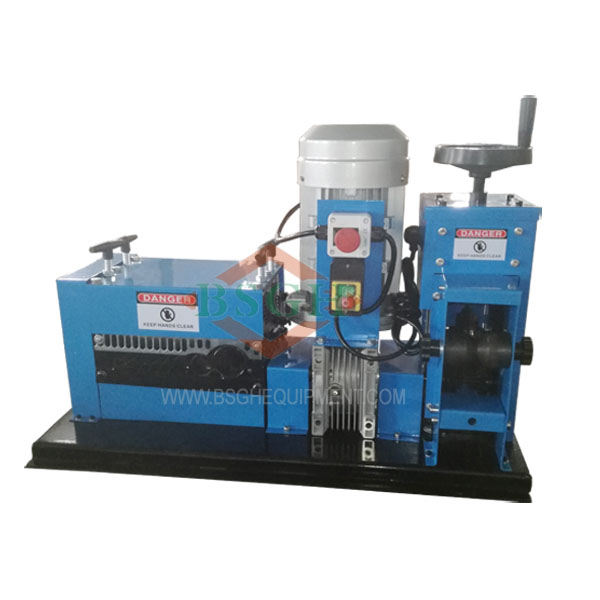 BS-4 SMS-4 automatic cable wire stripping recycling machine ...